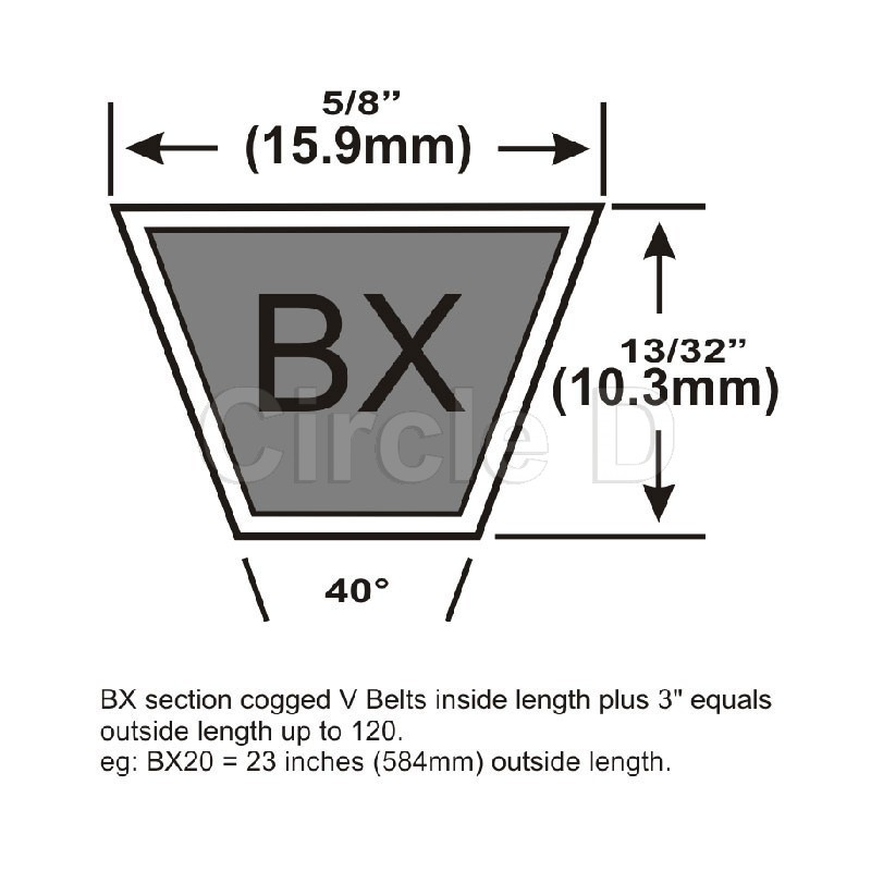 A125 V Belt