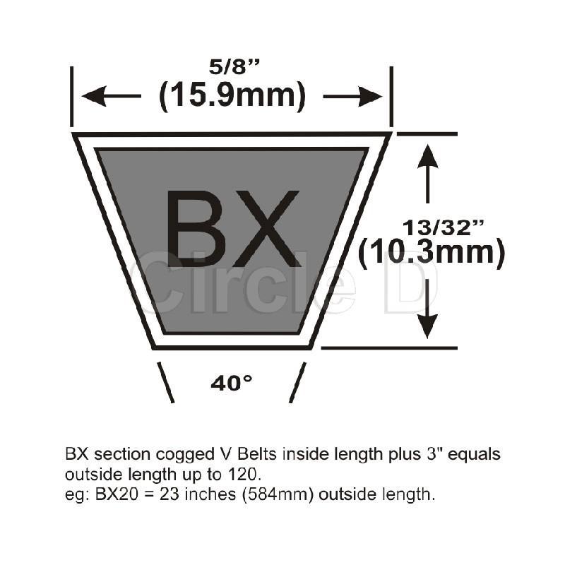 A128 V Belt