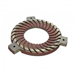 Starter motor solenoid 24 volt 2 bolt