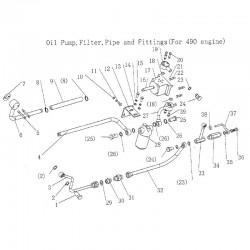 DF354 Hollow bolt