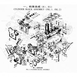 Cylinder rebuild kit 495 DI
