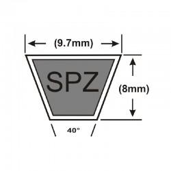 SPZ1850 Major Brand SPZ-Section V-Belt