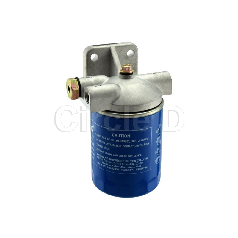 2 inlet cx7085 fuel filter assembly