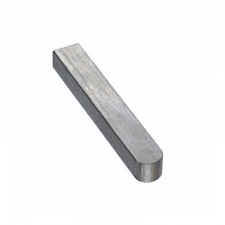 Flat shaft key 10x64x8