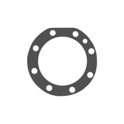 Front axle housing gasket...
