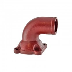 Steering oil outlet pipe. Right 4WD