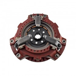 Dual stage clutch assembly