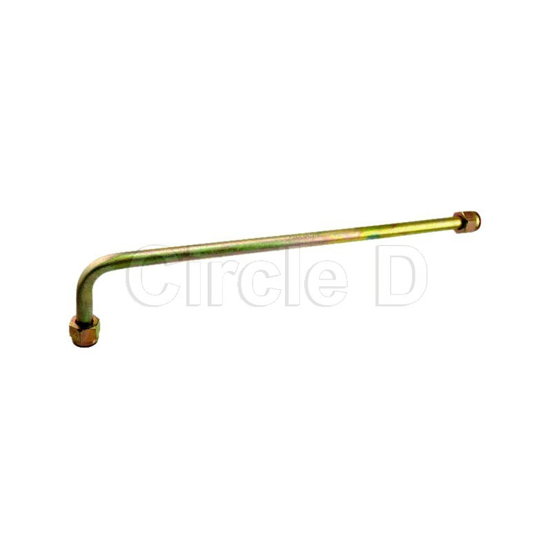 Steering cyl hard hose elbow