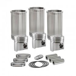 KM390 piston rings 0.00