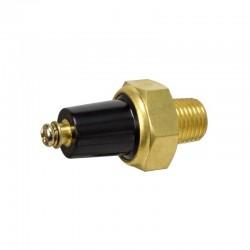 Oil pressure alarm